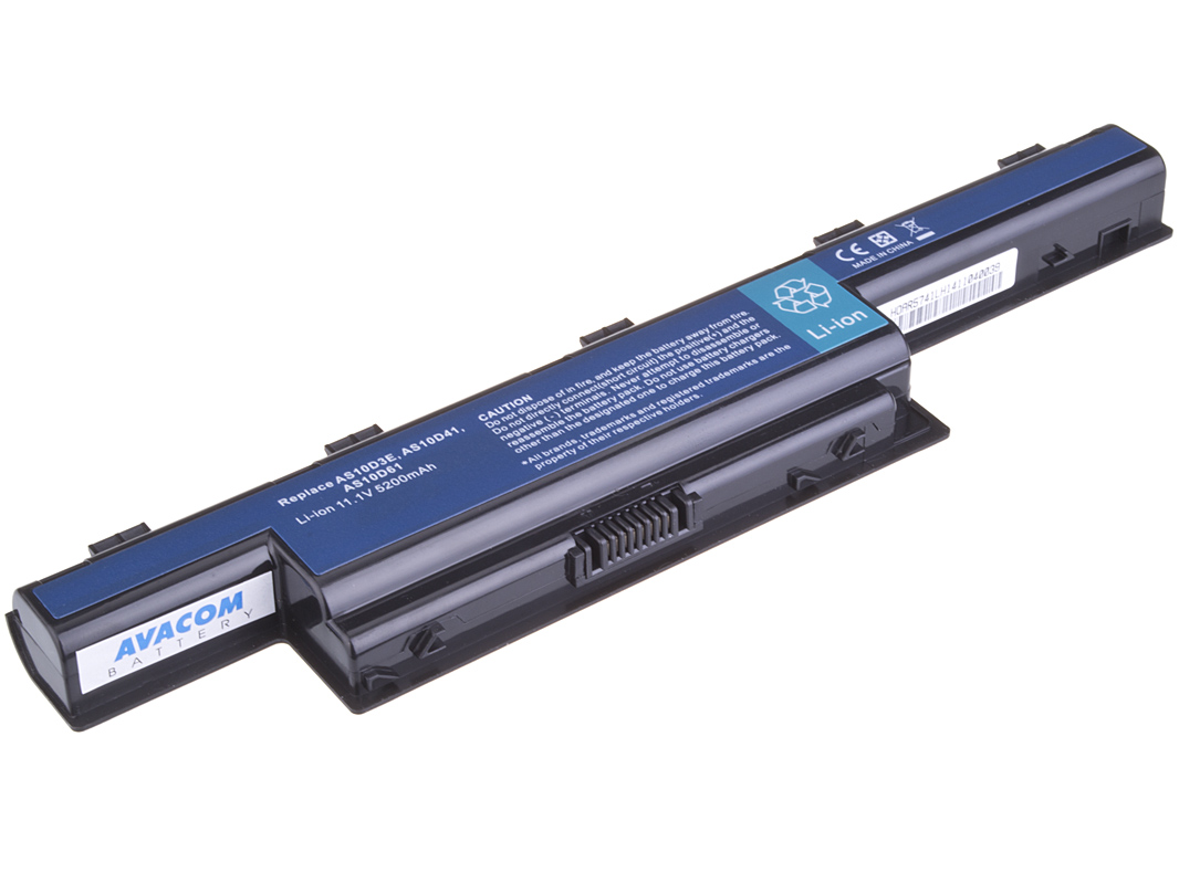 Baterie AVACOM NOAC-7750-806 pro Acer Aspire 7750/5750, TravelMate 7740 Li-Ion 11,1V 5200mAh/58Wh