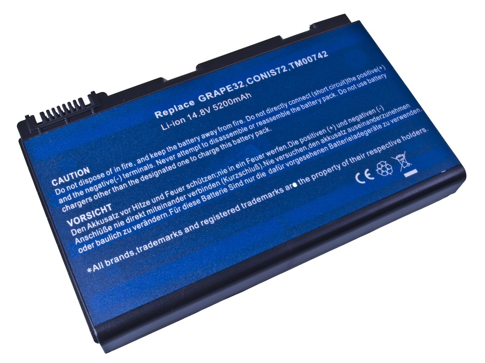 Baterie AVACOM NOAC-TM53-806 pro Acer TravelMate 5310/5720, Extensa 5220/5620 Li-Ion 14,8V 5200mAh