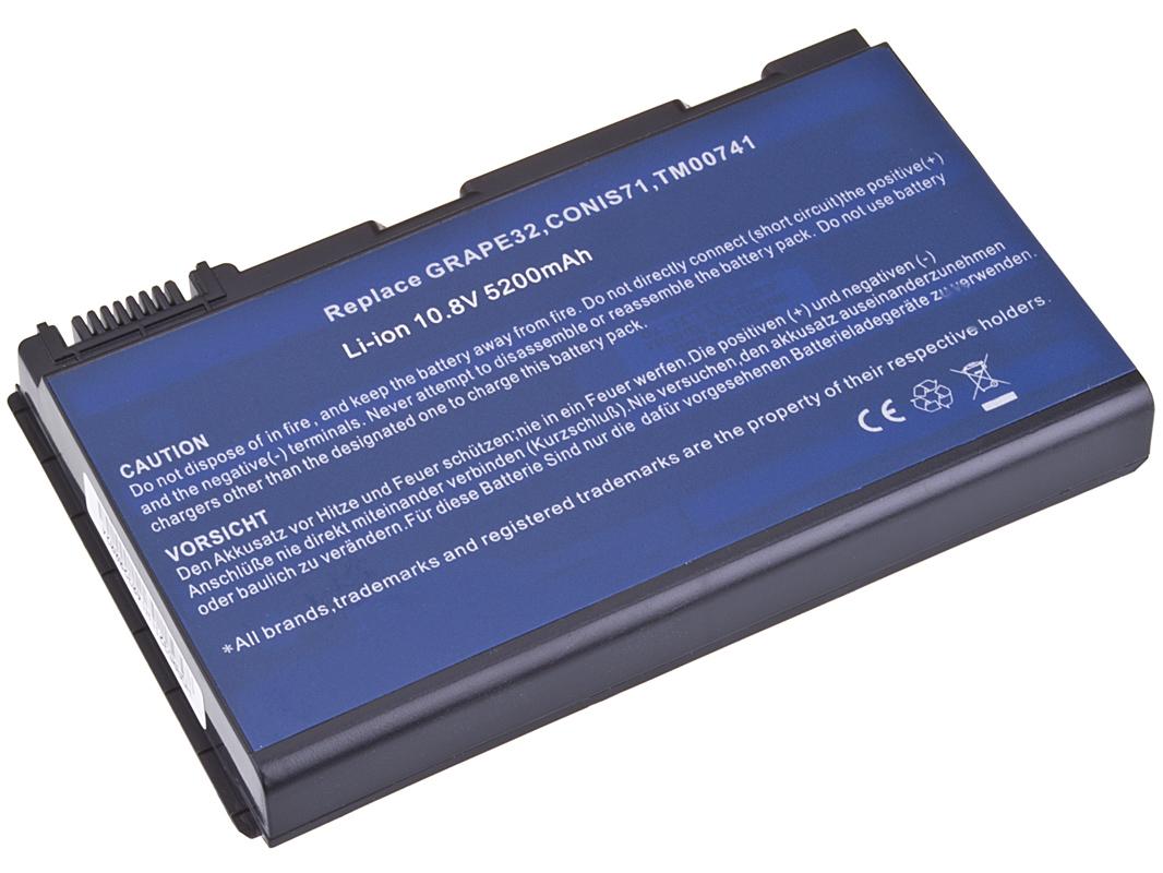 Baterie AVACOM NOAC-TM57-806 pro Acer TravelMate 5320/5720, Extensa 5220/5620 Li-Ion 10,8V 5200mAh