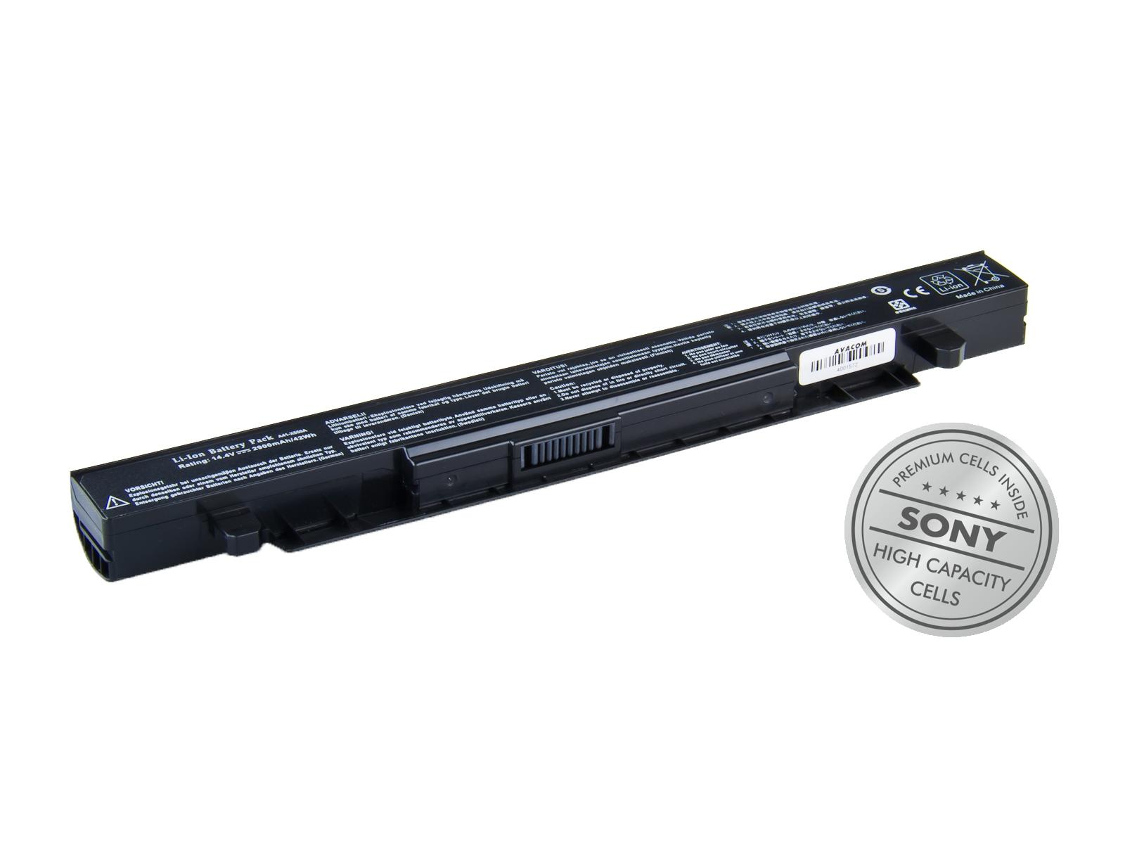 Baterie AVACOM NOAS-X550-S29 pro Asus X550, K550, Li-Ion 14,4V 2900mAh/42Wh