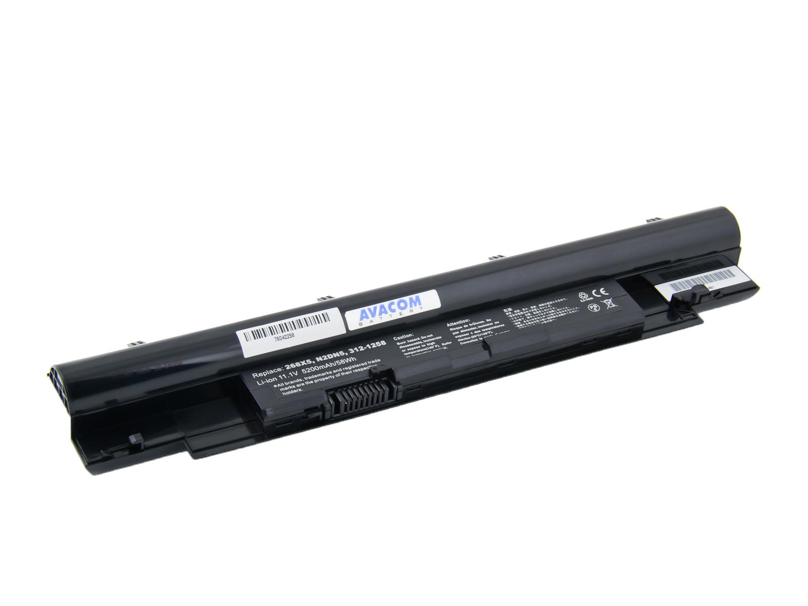 Baterie AVACOM NODE-IN41-806 pro Dell Inspiron N411z, Vostro V131 Li-Ion 11,1V 5200mAh/58Wh