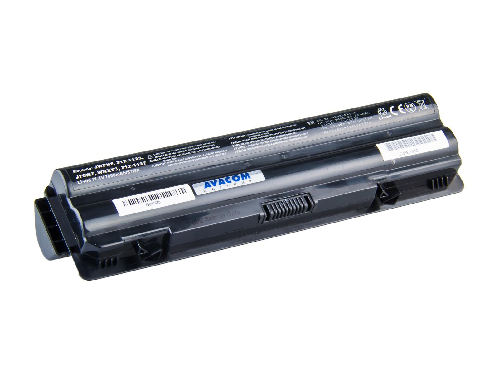 Baterie AVACOM NODE-XPLH-806 pro Dell XPS 14/15/17 Li-Ion 11,1V 7800mAh/87Wh