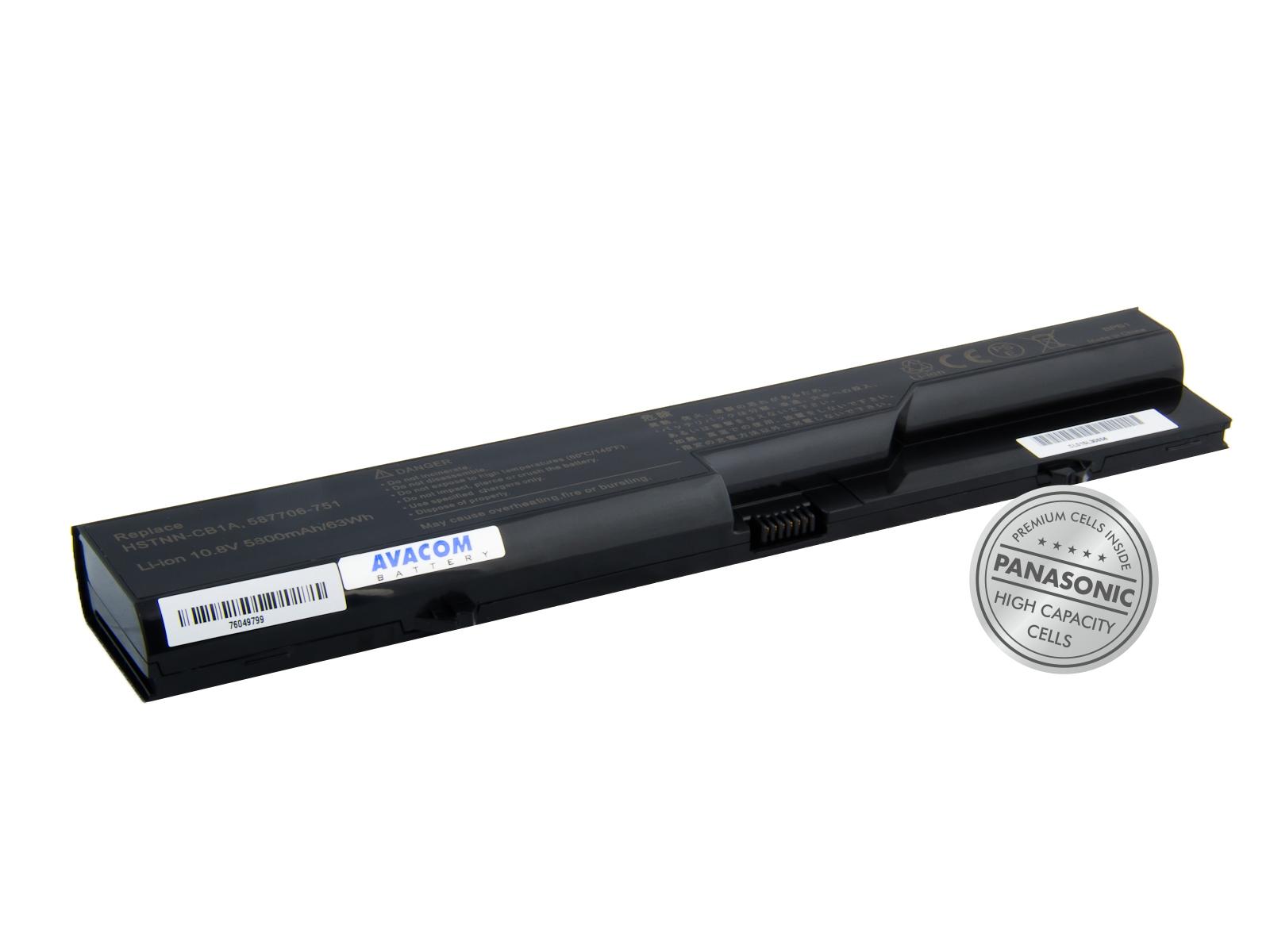 Baterie AVACOM NOHP-PB20-P29 pro HP ProBook 4320s/4420s/4520s series Li-Ion 10,8V 5800mAh/63Wh