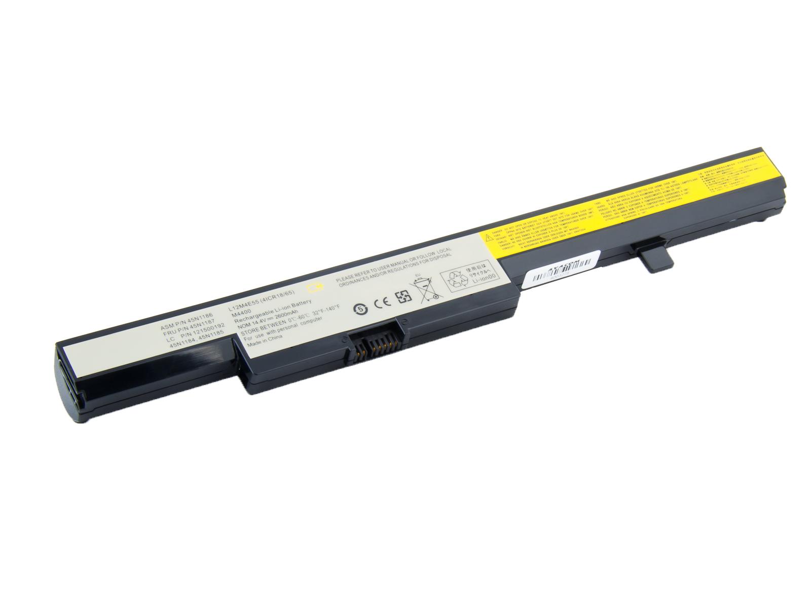 Baterie AVACOM NOLE-B50-S26 pro Lenovo IdeaPad B50 Li-Ion 14,4V 2600mAh