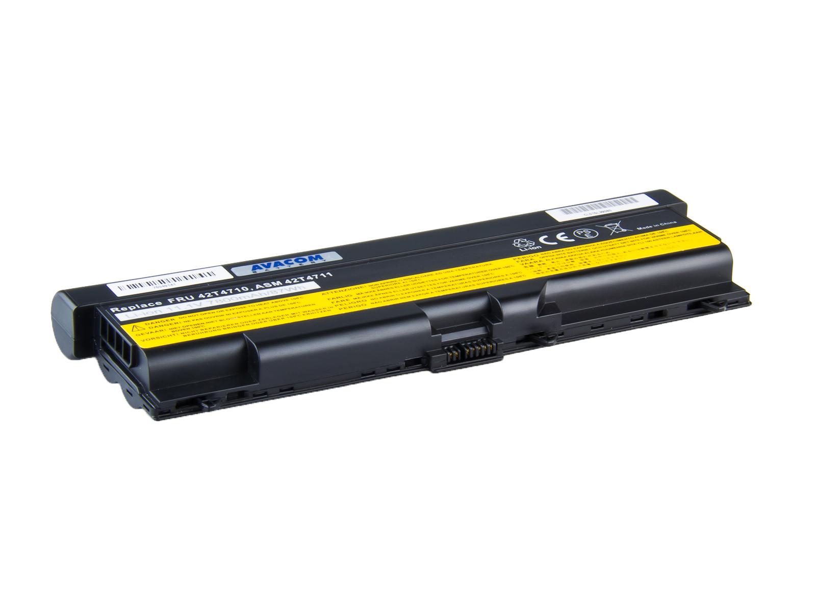 Baterie AVACOM NOLE-SL41H-806 pro Lenovo ThinkPad T410/SL510/Edge 14, 15 Li-Ion 11,1V 7800mAh