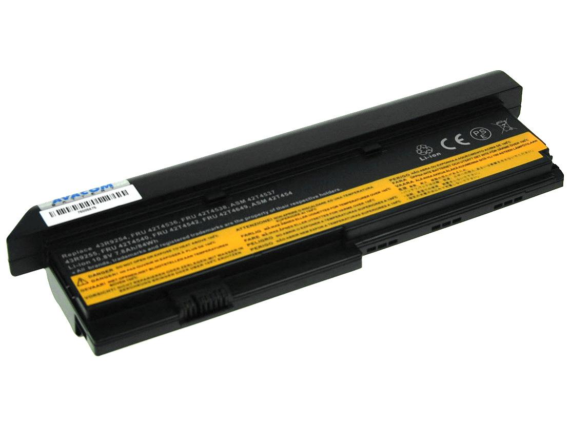 Baterie AVACOM NOLE-X200h-806 pro Lenovo X200 series Li-Ion 11,1V 7800mAh/87Wh