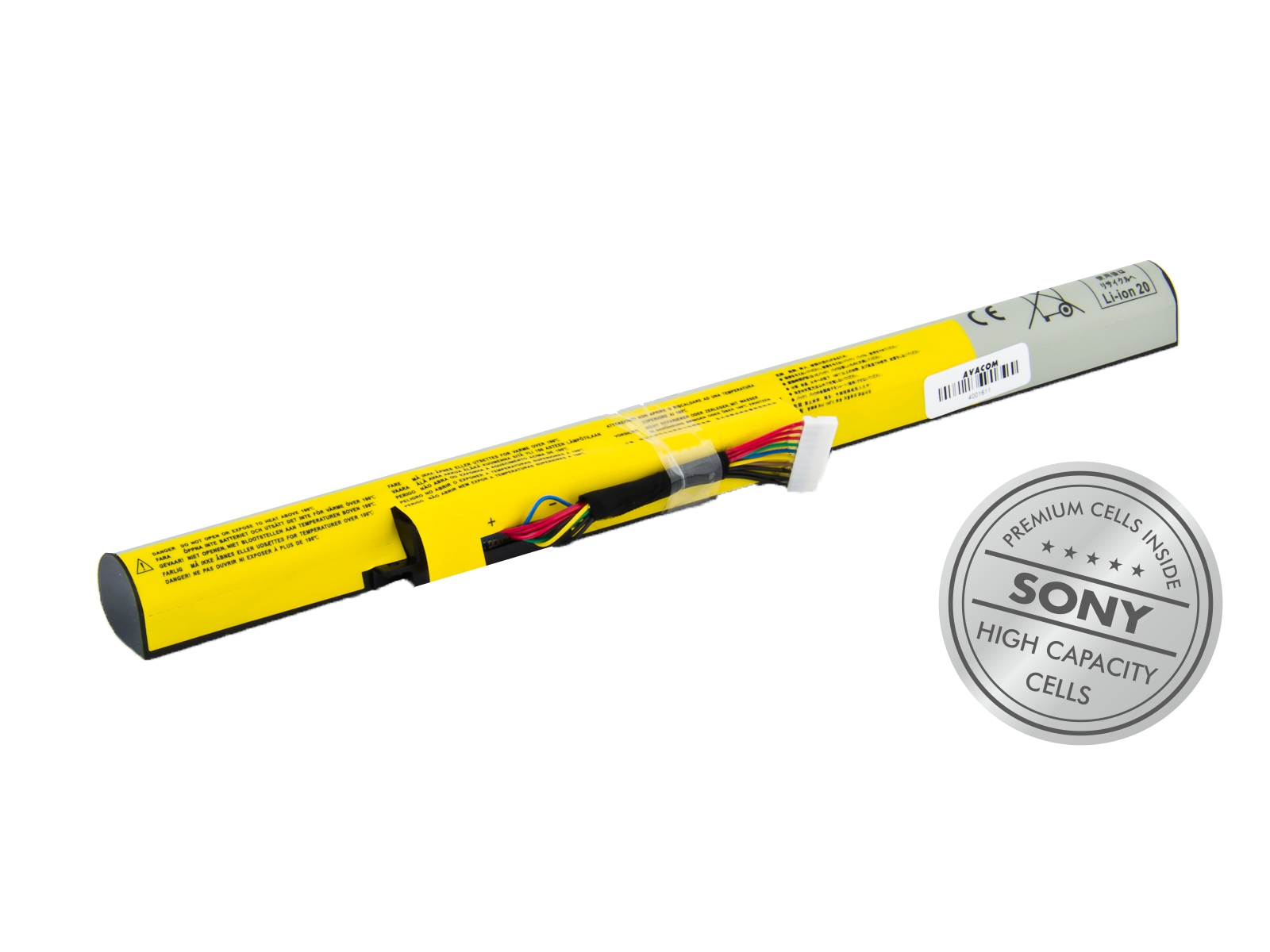 Baterie AVACOM NOLE-Z500-S29 pro Lenovo IdeaPad Z500, Z400, Z510, P400 Li-Ion 14,4V 2900mAh/42Wh