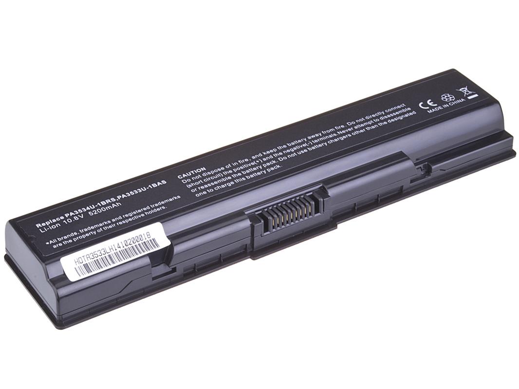 Baterie AVACOM NOTO-A200-806 pro Toshiba Satellite A200/A300/L300 Li-ion 10,8V 5200mAh/56Wh