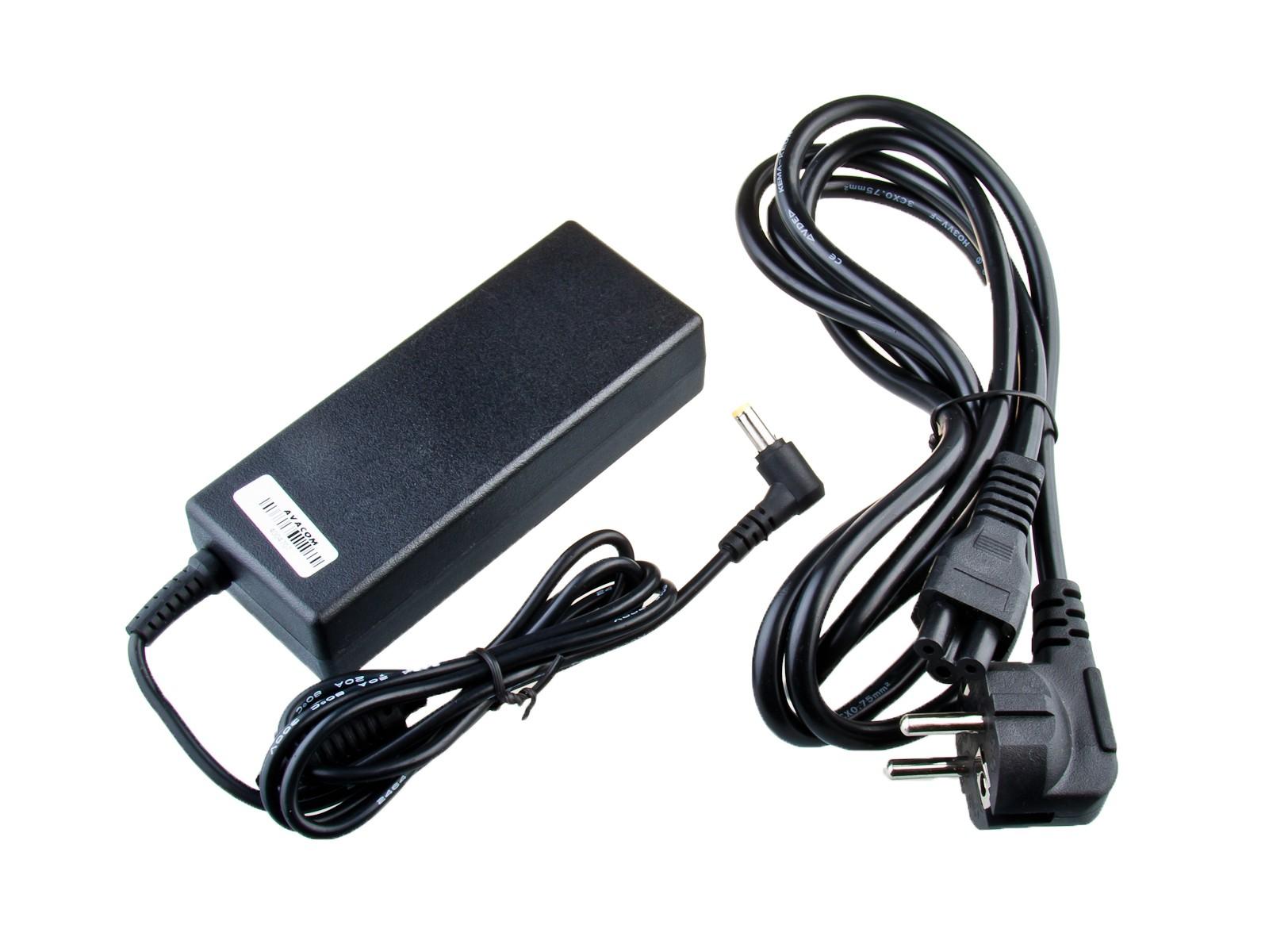 Nabíjecí adaptér AVACOM ADAC-ACER-90W pro notebook Acer 19V 4,7A 90W konektor 5,5mm x 1,7mm