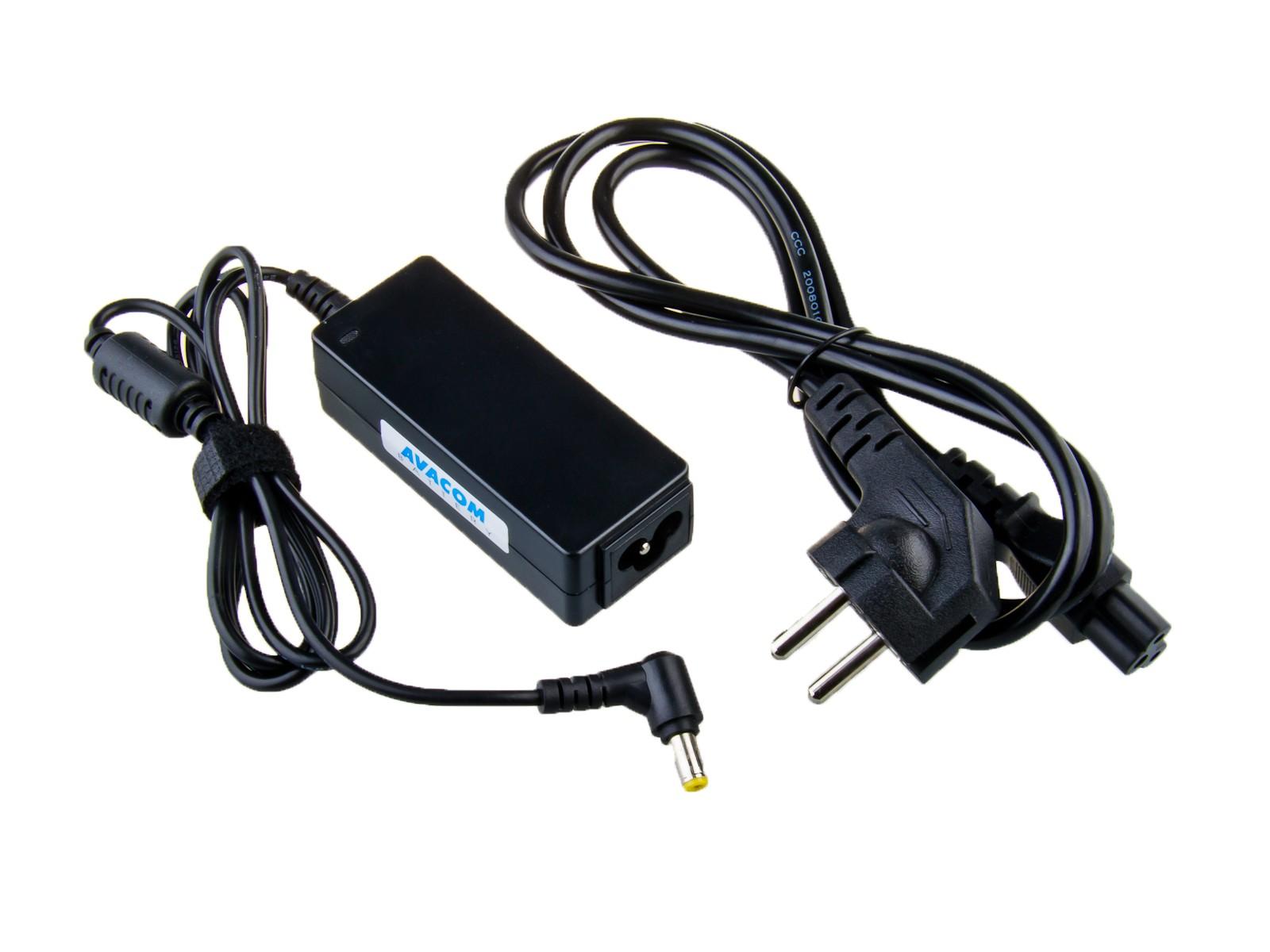 Nabíjecí adaptér AVACOM ADAC-ACER-30W pro netbook Acer, Dell 19V 1,58A 30W konektor 5,5mm x 1,7mm