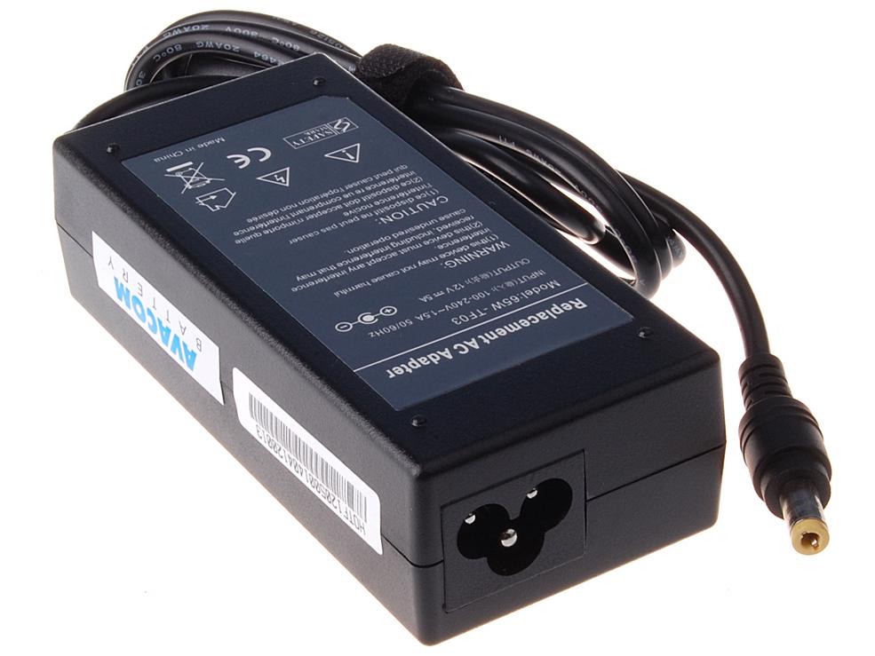 Nabíjecí adaptér AVACOM ADAC-12V-60W pro notebook 100-240V/12V 5A 60W pro LCD monitory 5,5x2,1mm