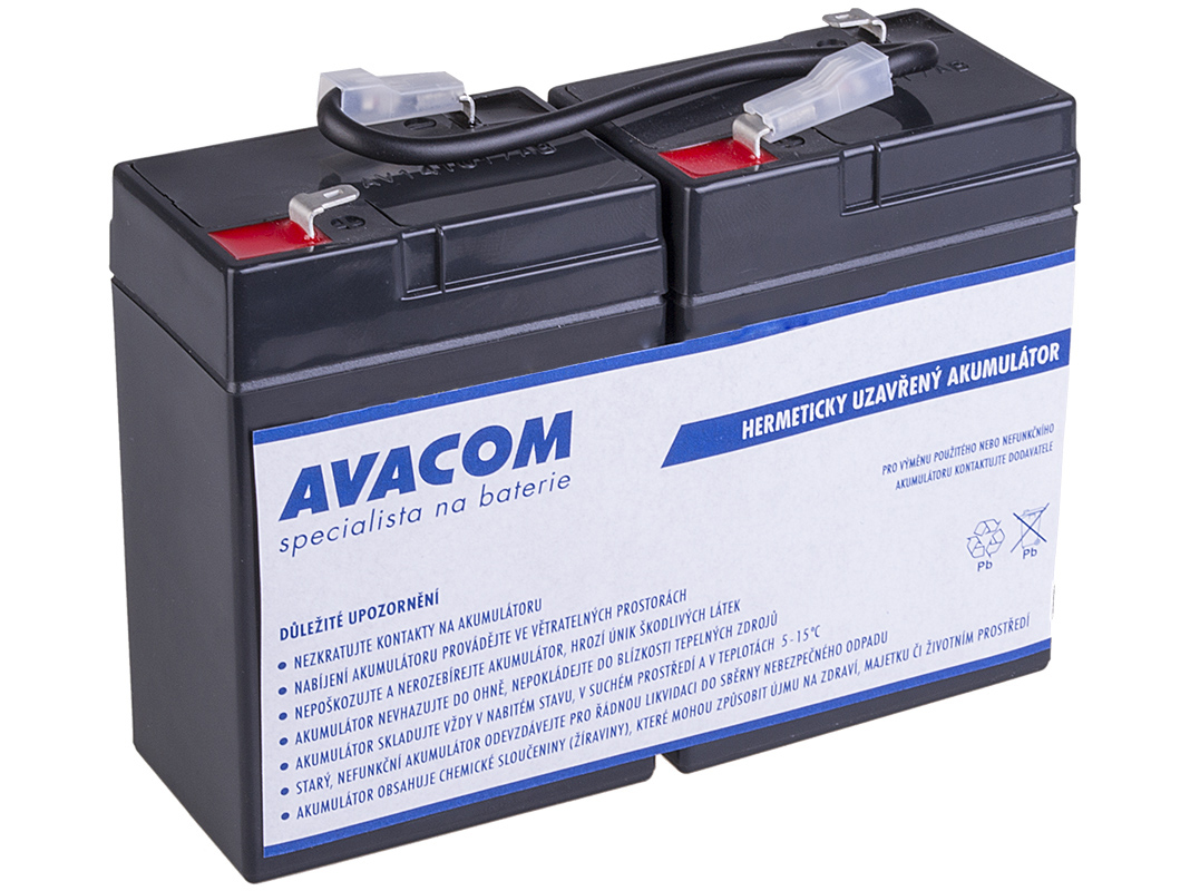 Baterie AVACOM AVA-RBC1 náhrada za RBC1 - baterie pro UPS