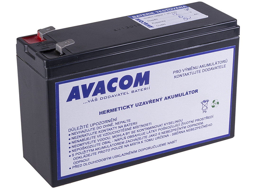 Baterie AVACOM AVA-RBC1061 náhrada za RBC106 - baterie pro UPS