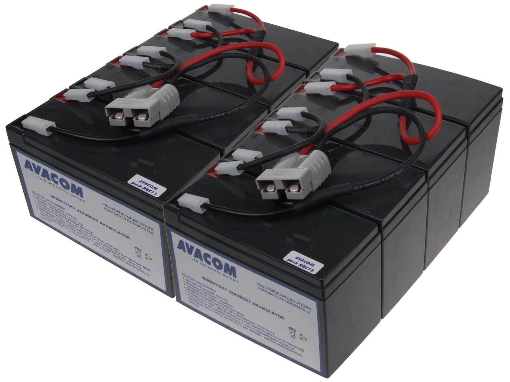 Baterie AVACOM AVA-RBC12 náhrada za RBC12 - baterie pro UPS - AVA-RBC12
