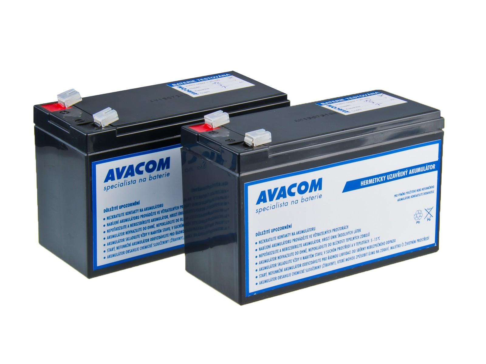Bateriový kit AVACOM AVA-RBC123-KIT náhrada pro renovaci RBC123 (2ks baterií) - AVA-RBC123-KIT