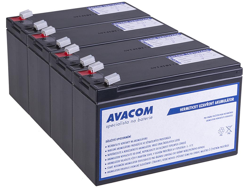 Bateriový kit AVACOM AVA-RBC133-KIT náhrada pro renovaci RBC133 (4ks baterií) - AVA-RBC133-KIT