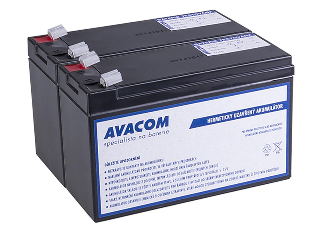 Bateriový kit AVACOM AVA-RBC22-KIT náhrada pro renovaci RBC22 (2ks baterií) - AVA-RBC22-KIT
