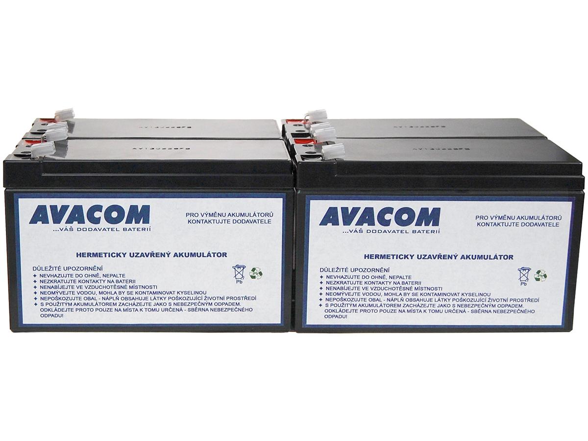 Bateriový kit AVACOM AVA-RBC23-KIT náhrada pro renovaci RBC23 (4ks baterií) - AVA-RBC23-KIT