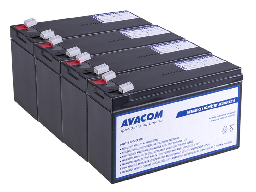 Bateriový kit AVACOM AVA-RBC31-KIT náhrada pro renovaci RBC31 (4ks baterií) - AVA-RBC31-KIT