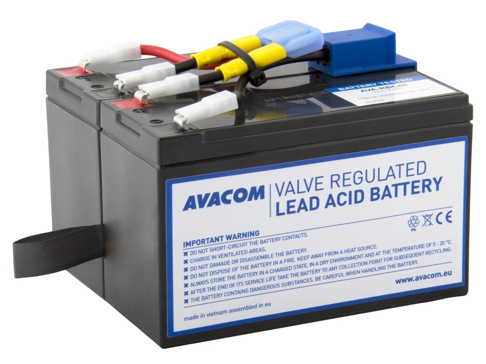 Baterie AVACOM AVA-RBC48 náhrada za RBC48 - baterie pro UPS - AVA-RBC48