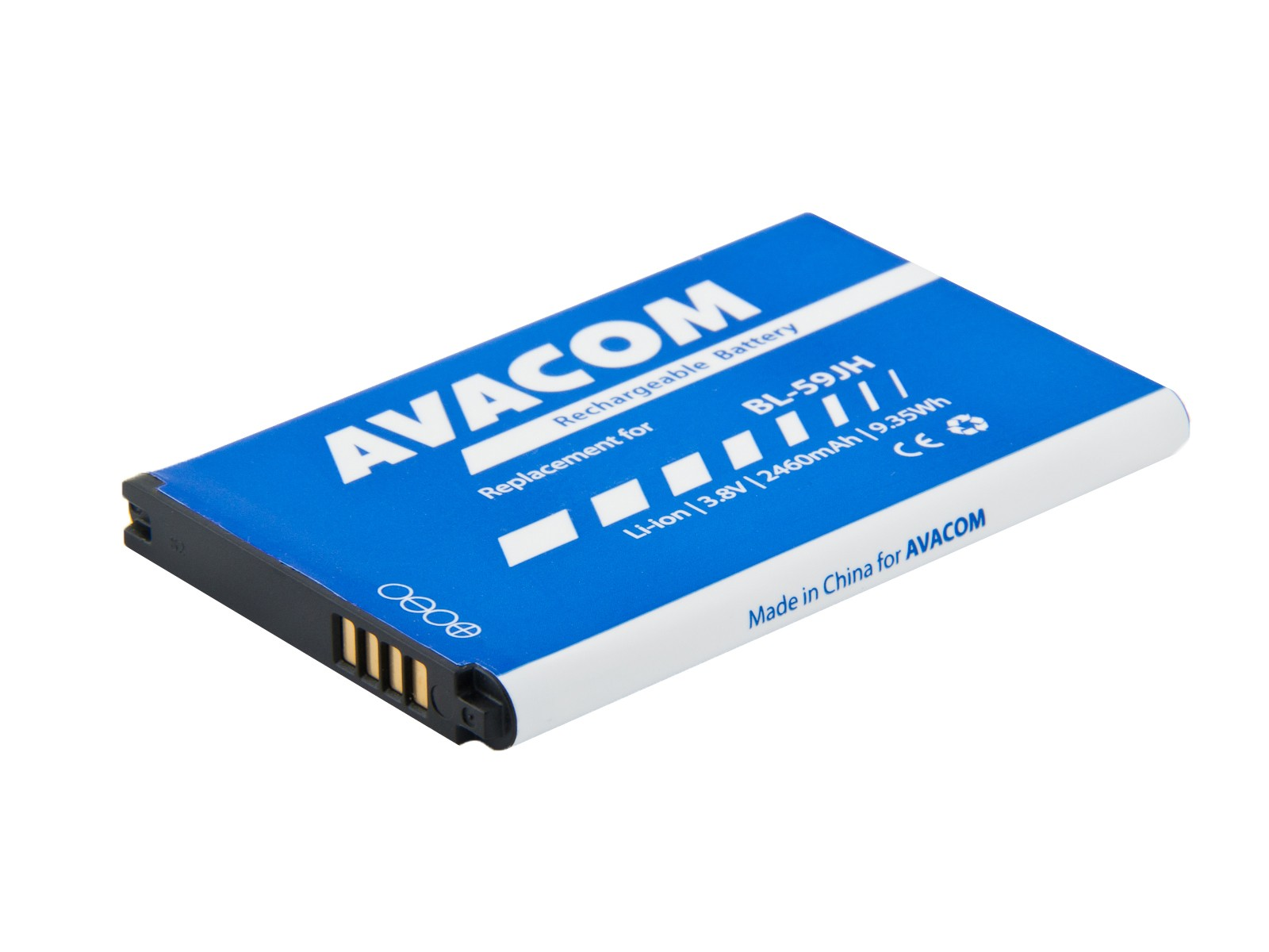 Baterie AVACOM GSLG-P710-2460 do mobilu LG Optimus L7 II Li-Ion 3,8V 2460mAh, (náhrada BL-59JH)