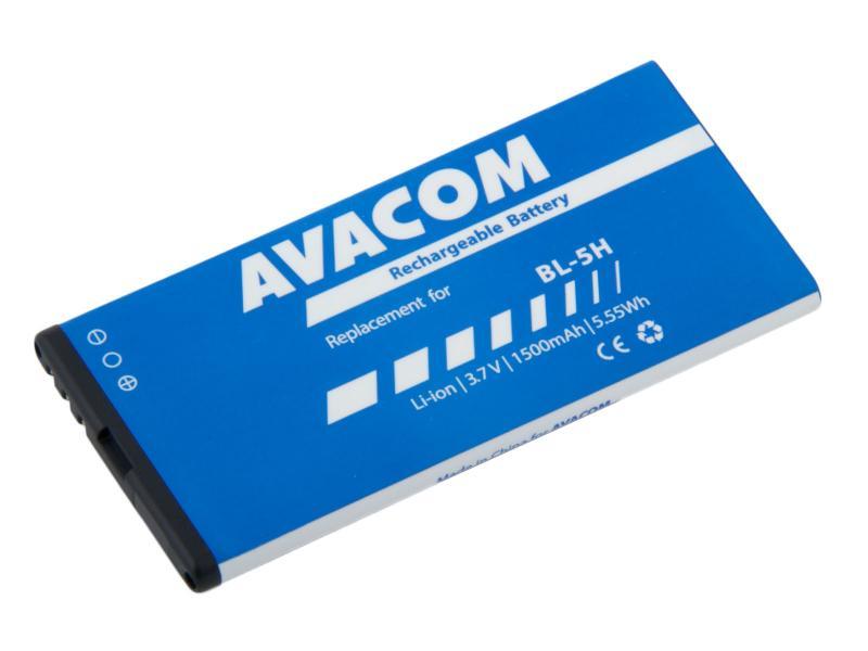 Baterie AVACOM GSNO-BL5H-S1500 do mobilu Nokia Lumia 630, 635 Li-Ion 3,7V 1500mAh (náhrada BL-5H)