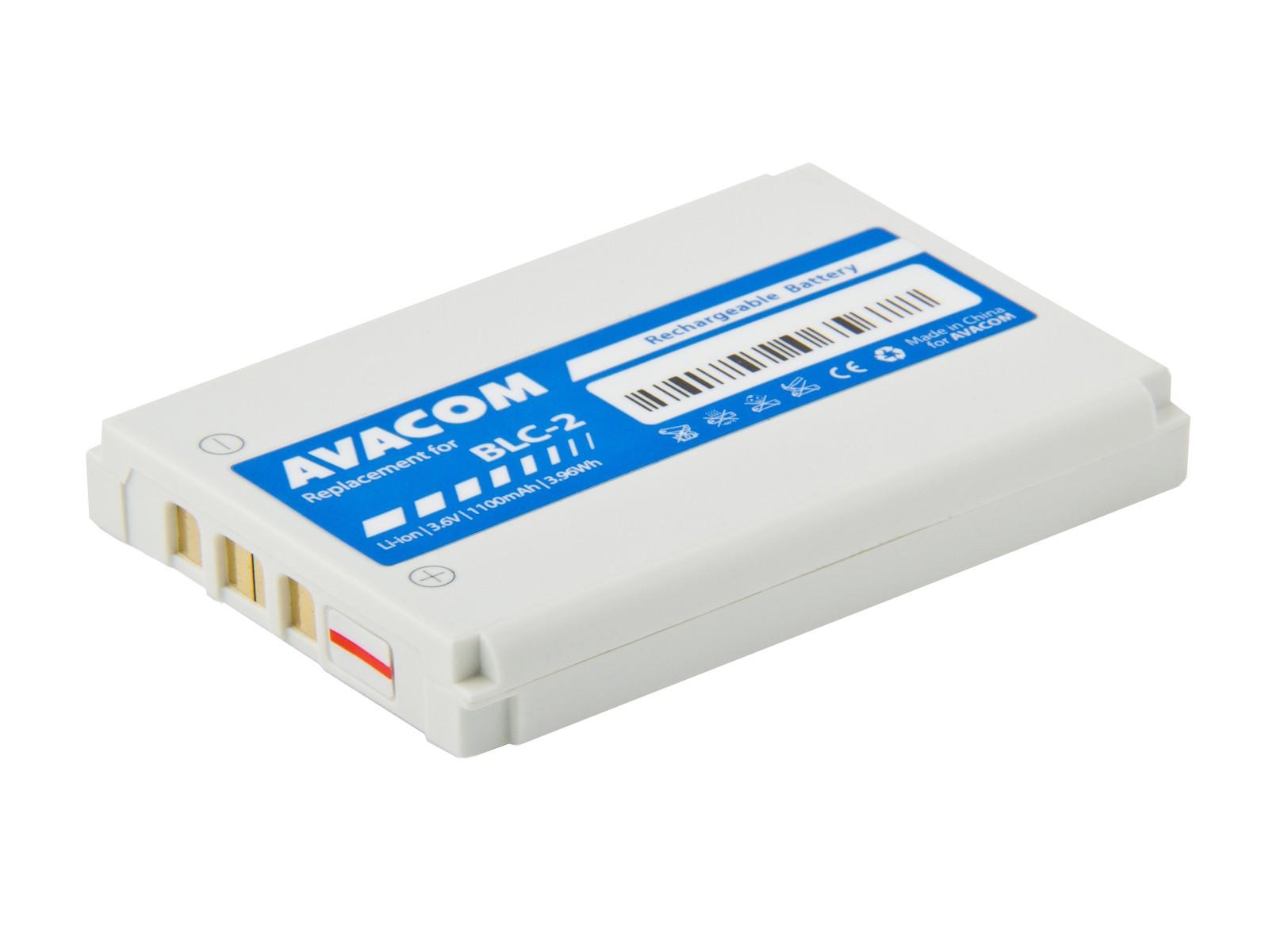 Baterie AVACOM GSNO-BLC2-1100A do mobilu Nokia 3410, 3310 ,3510 Li-Ion 3,6V 1100mAh (náhrada BLC-2)