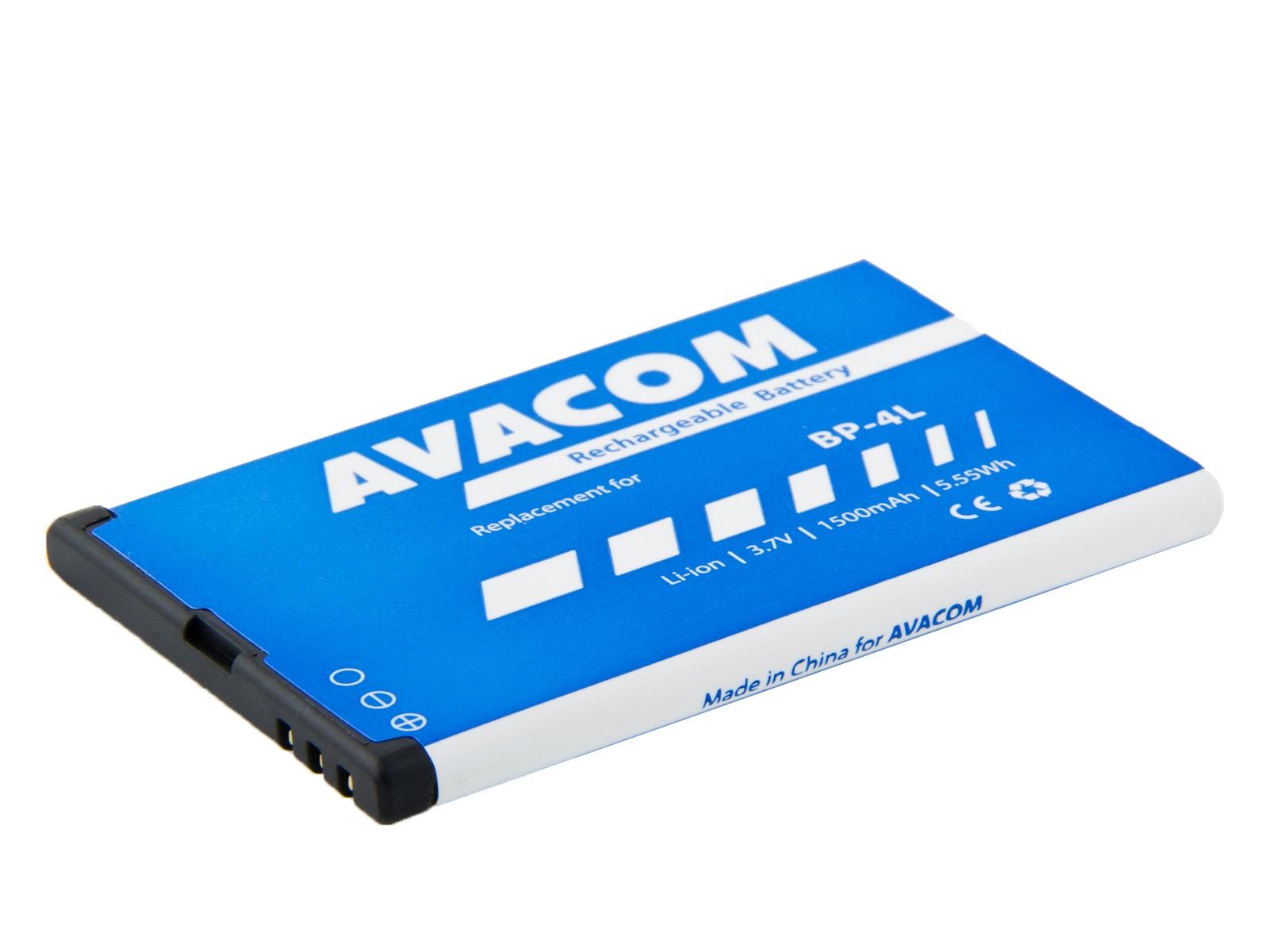 Baterie AVACOM GSNO-BP4L-S1500Aa do mobilu Nokia E55, E52, E90, Li-Ion 3,7V 1500mAh (náhrada BP-4L)