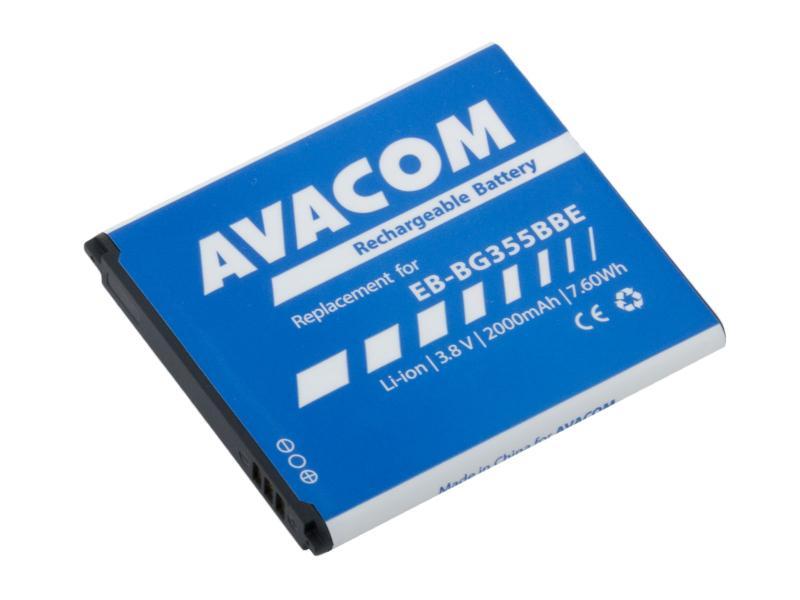 Baterie AVACOM GSSA-G355-S2000 do mobilu Samsung Core 2 Li-Ion 3,8V 2000mAh, (náhrada EB-BG355BBE)