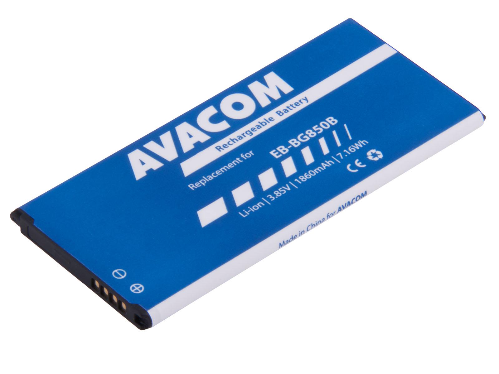 Baterie AVACOM GSSA-G850-1860 do mobilu Samsung G850 Galaxy Alpha Li-Ion 3,85V 1860mAh - GSSA-G850-1860