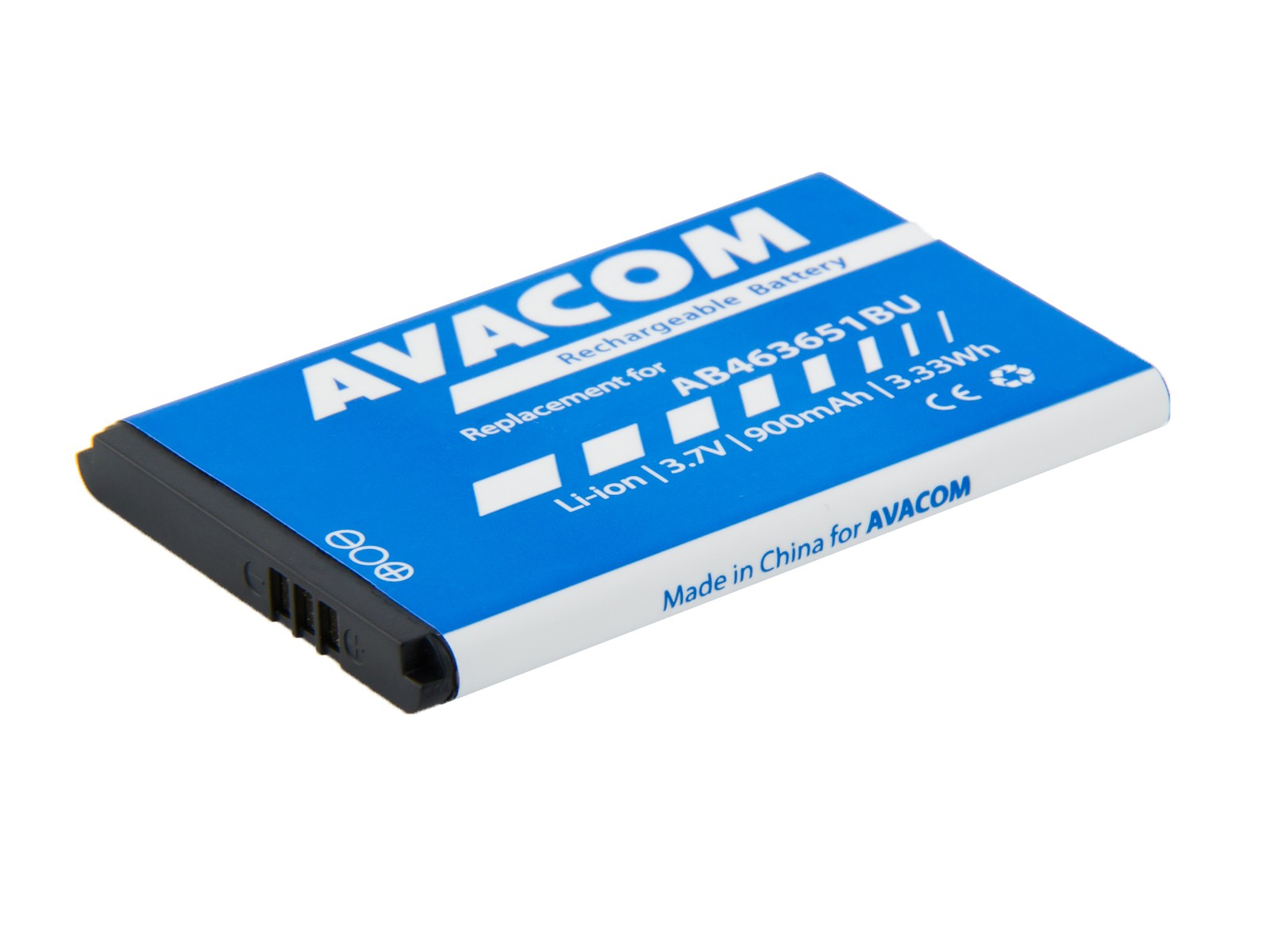 Baterie AVACOM GSSA-S5610-900 do mobilu Samsung B3410 Corby plus Li-Ion 3,7V 900mAh - GSSA-S5610-900