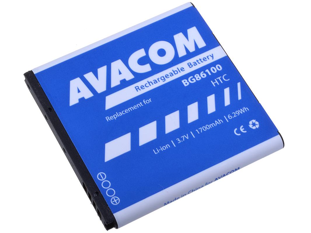 Baterie AVACOM PDHT-G14-S1700A do mobilu HTC G14 Sensation Li-Ion 3,7V 1700mAh (náhrada BG86100)