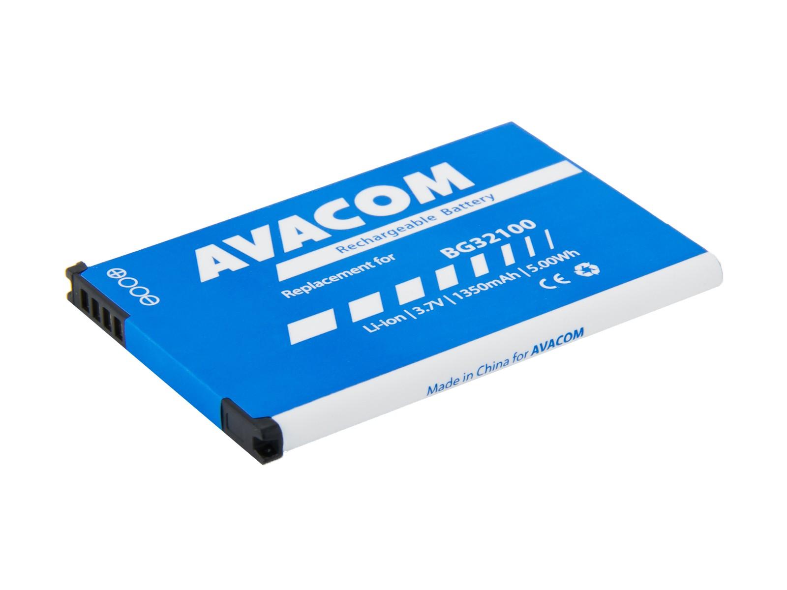 Baterie AVACOM PDHT-S710-1350 do mobilu HTC Desire Z Li-Ion 3,7V 1350mAh (náhrada BG32100)
