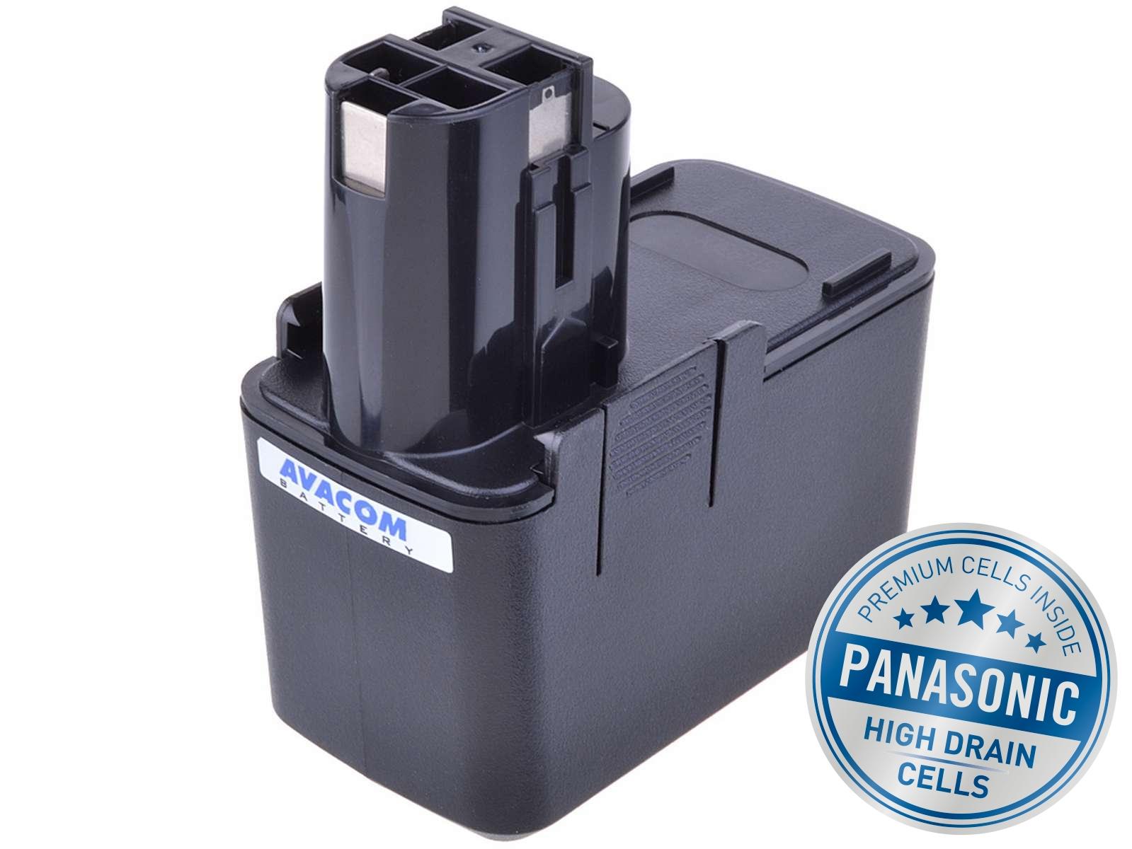 Baterie AVACOM BOSCH B2300,3300K Ni-MH 12V 3000mAh, články PANASONIC