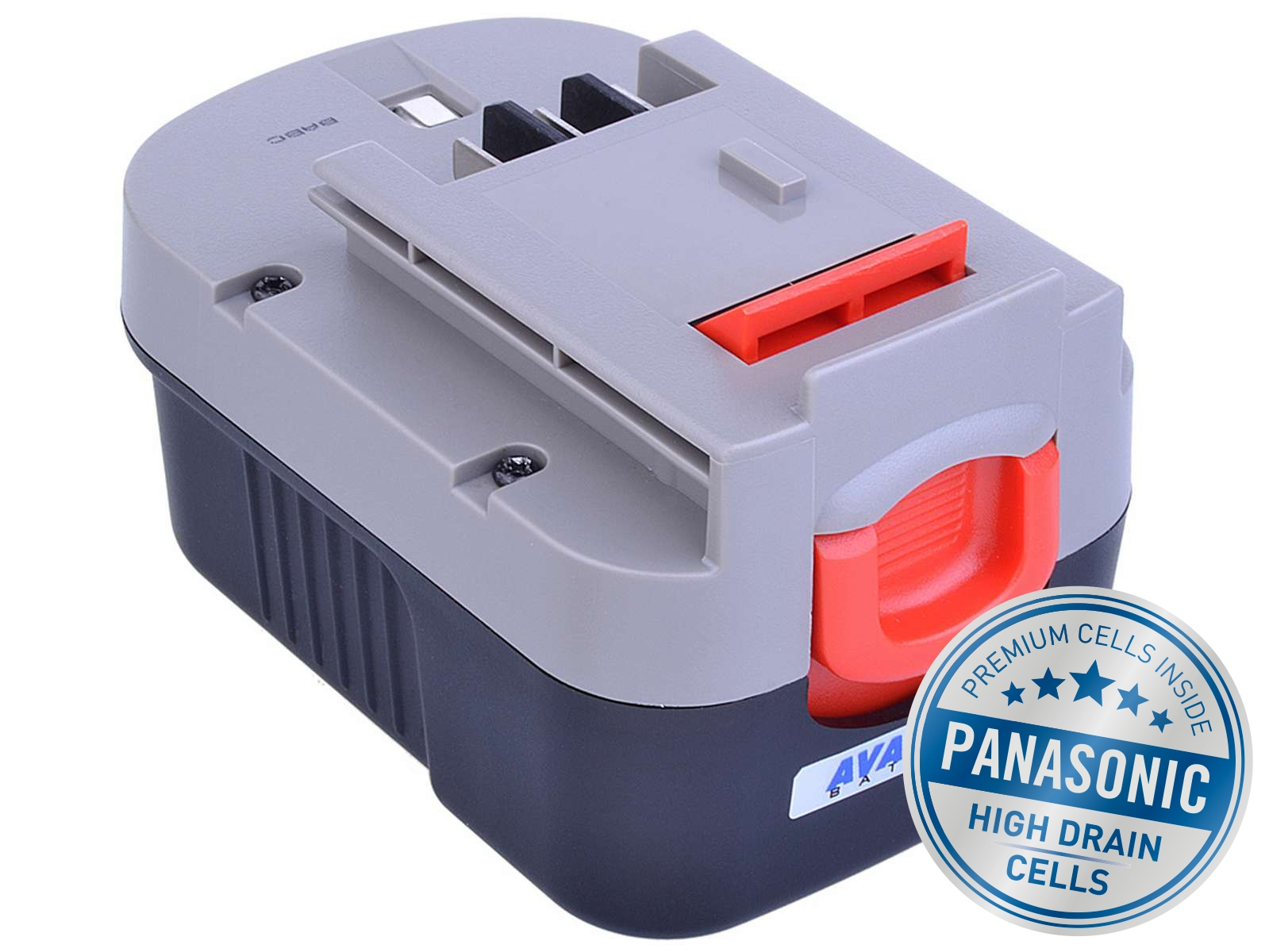 Baterie AVACOM BLACK & DECKER A144, A1714 Ni-MH 14,4V 3000mAh, články PANASONIC