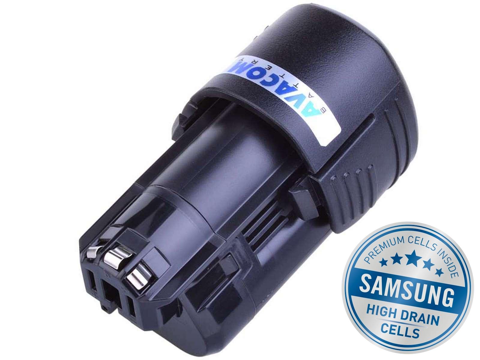 Baterie AVACOM BOSCH GSR 10,8 V-LI, Li-Ion 10,8V 2000mAh, články SAMSUNG