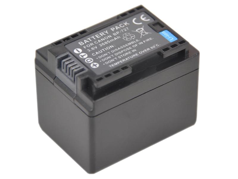 Baterie AVACOM Canon BP-727 Li-Ion 3.6V 2400mAh 8.6Wh