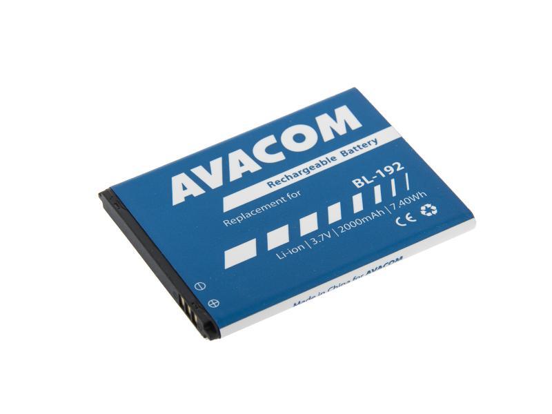 Baterie AVACOM GSLE-BL192-2000 do mobilu Lenovo A328 Li-Ion 3,7V 2000mAh (náhrada BL192)