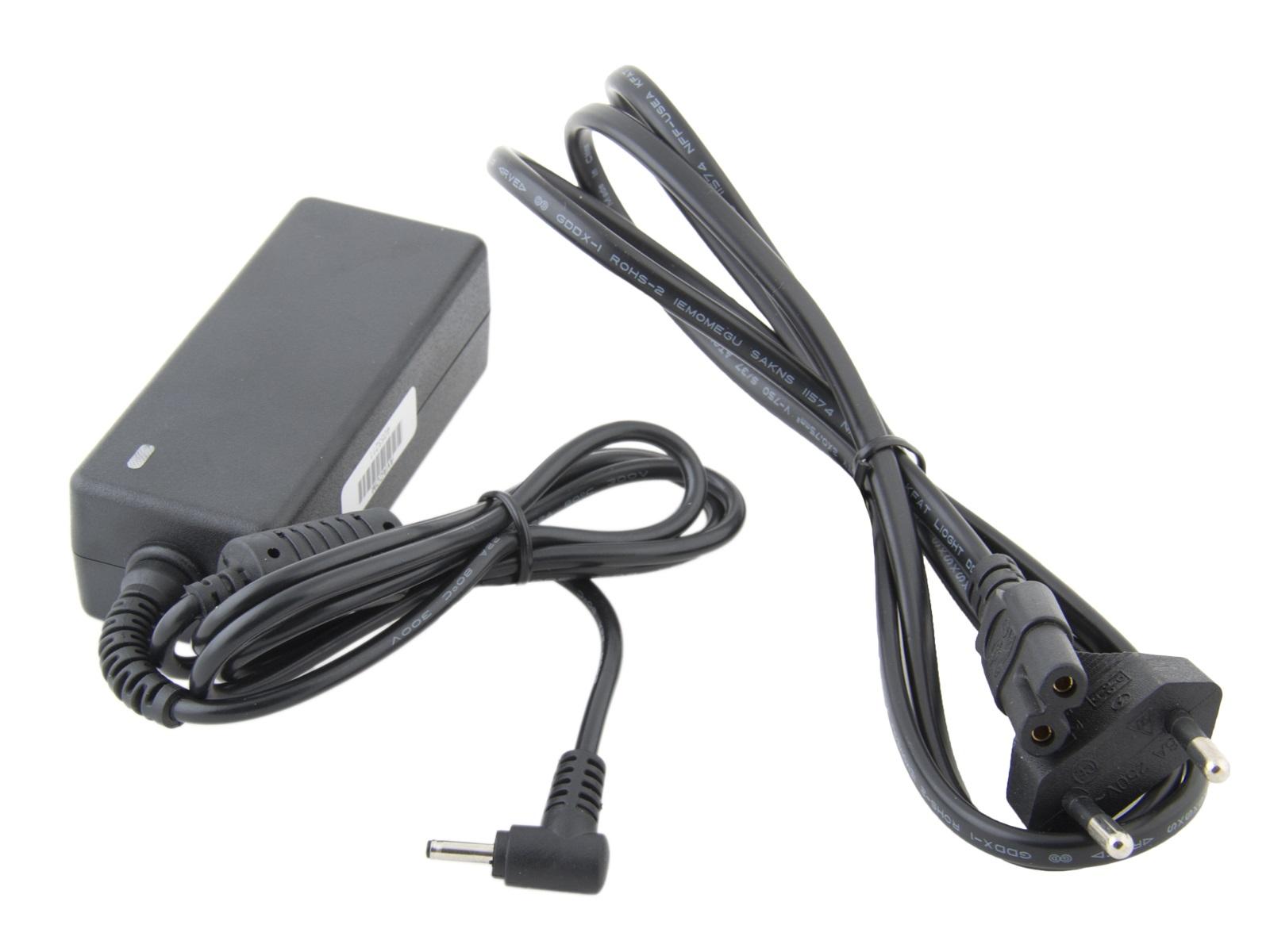 AVACOM Nabíjecí adaptér pro notebook Samsung 19V 2,1A 40W konektor 3,0mm x 1,0mm - 2-pin