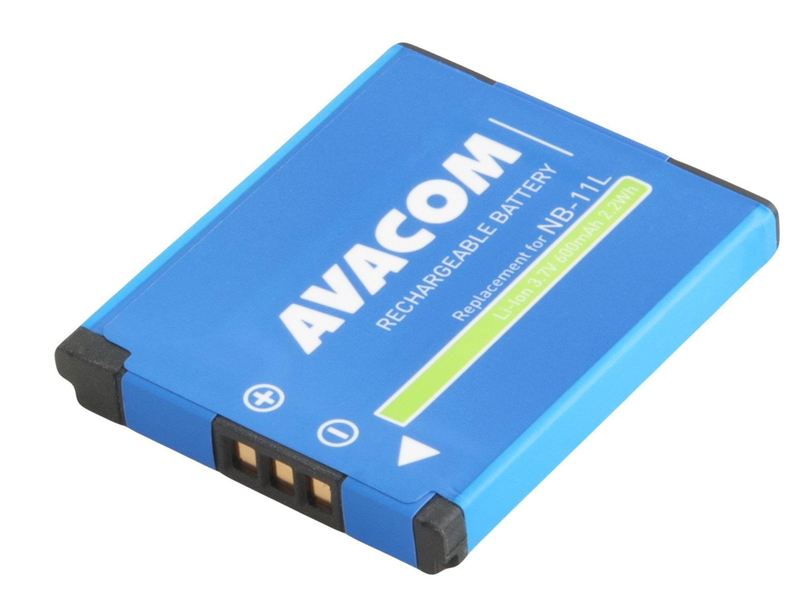 AVACOM baterie Canon NB-11L, NB-11LH Li-Ion 3.7V 600mAh 2.2Wh NEW