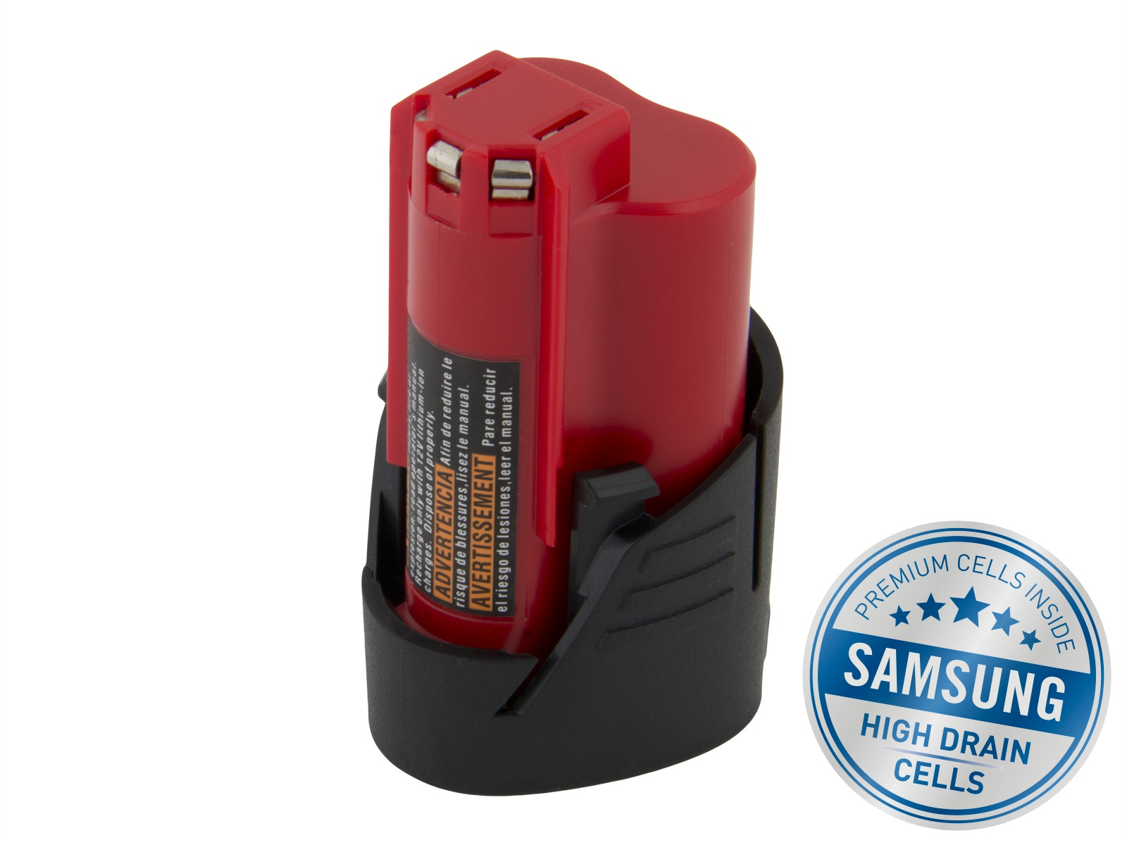 Baterie AVACOM MILWAUKEE C12 B Li-Ion 12V 2000mAh, články SAMSUNG - ATMW-L12A1-20Q