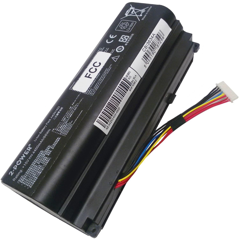 2-POWER Baterie 15V 4400mAh pro Asus G751JL, G751JM, G751JT, G751JY, GFX71JL, GFX71JT, GFX71JY