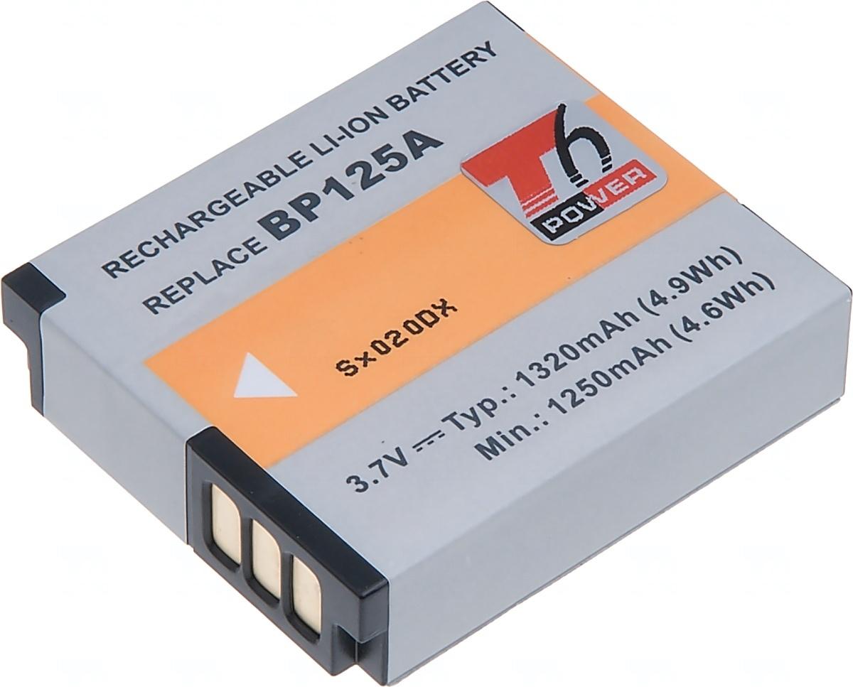 Baterie T6 power Samsung IA-BP125A, 1320mAh, černá