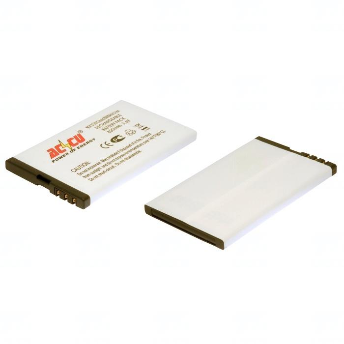 Baterie Accu pro Nokia 3120 classic; Nokia 6212 classic; Nokia 6600s, Li-ion, 1000mAh