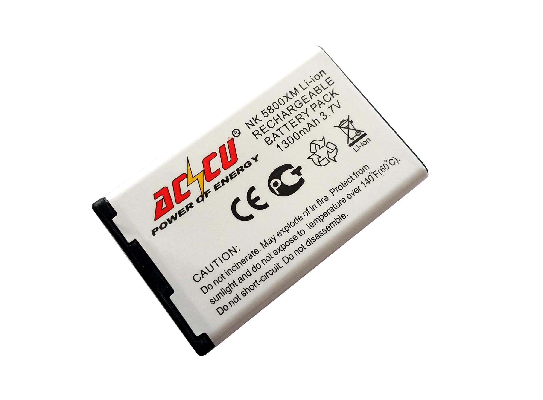 Baterie Accu pro Nokia 5800 Xpress Music, N900, Li-ion, 1300mAh