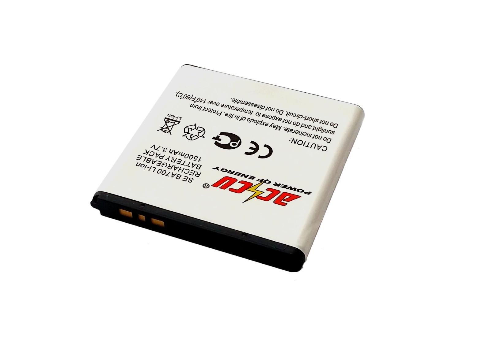 Baterie Accu pro Sony Ericsson Xperia Ray, Neo, Miro, Pro,Tipo, Li-ion, 1500mAh