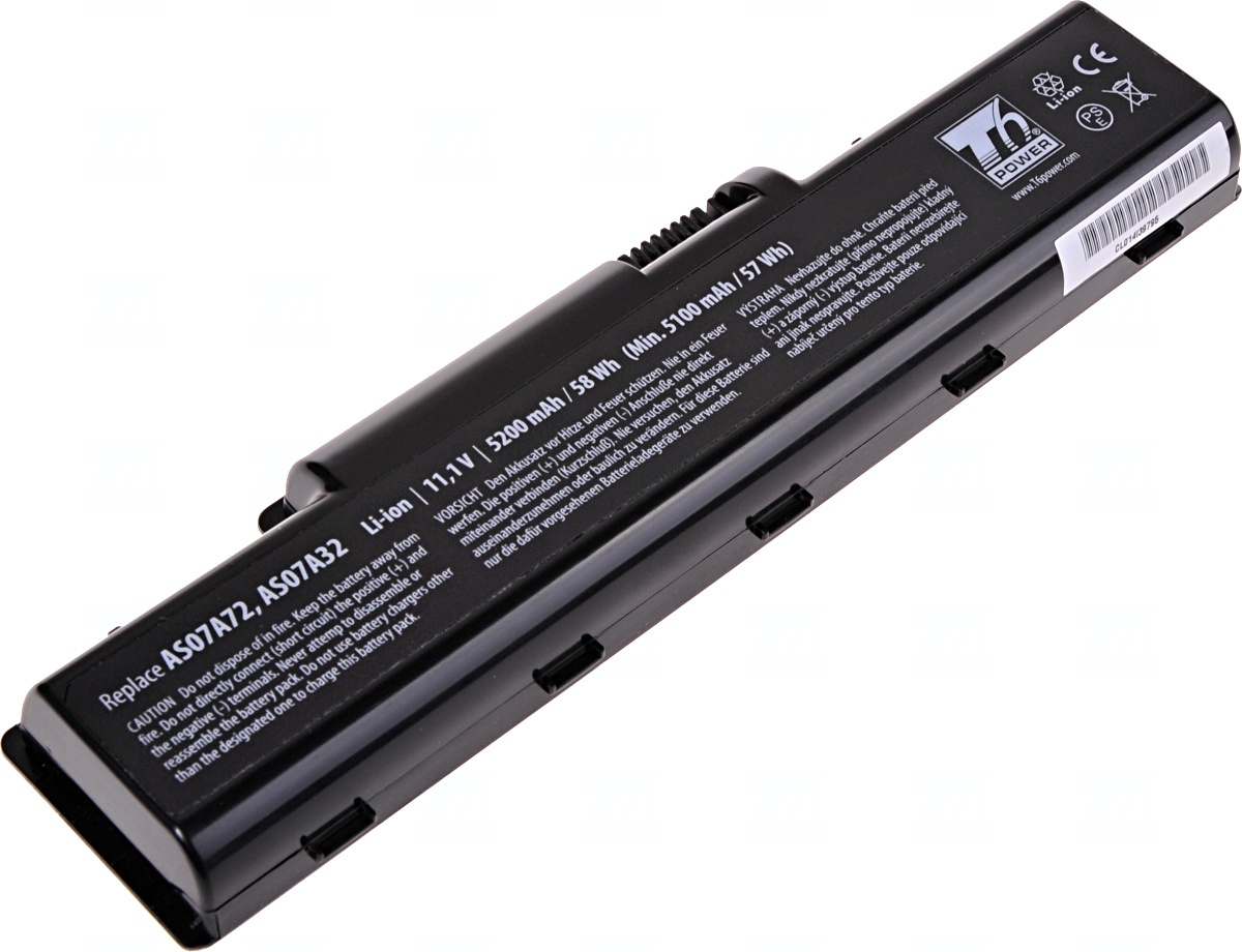 Baterie T6 power Acer Aspire 2930, 4220, 4310, 4520, 4720, 4730, 4920, 4930, 5517, 6cell, 5200mAh