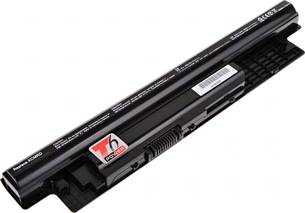 Baterie T6 power Dell Latitude 3440, 3540, Inspiron 14, 15, 17, Vostro 2421, 4cell, 2700mAh