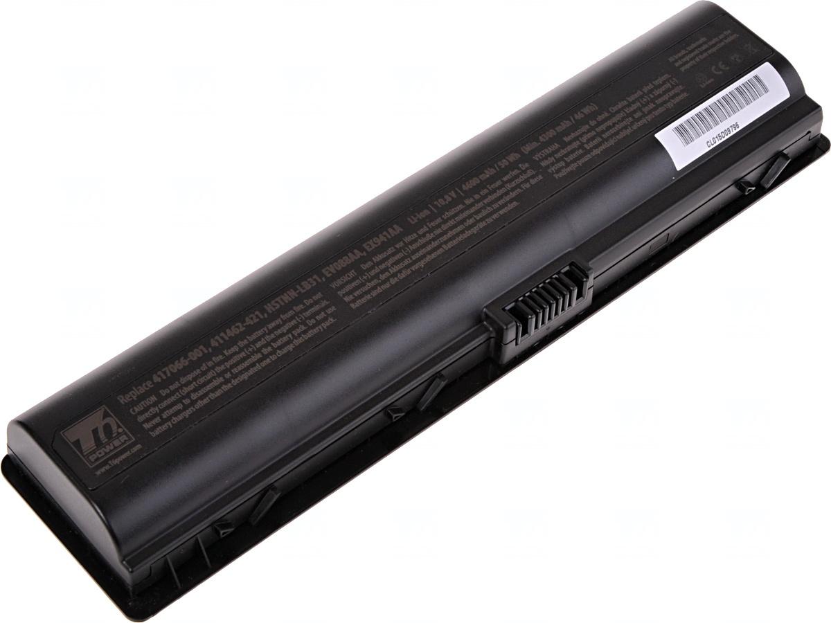 Baterie T6 power HP Pavilion dv2000, dv6000, G6000, G7000 serie, 6cell, 4600mAh