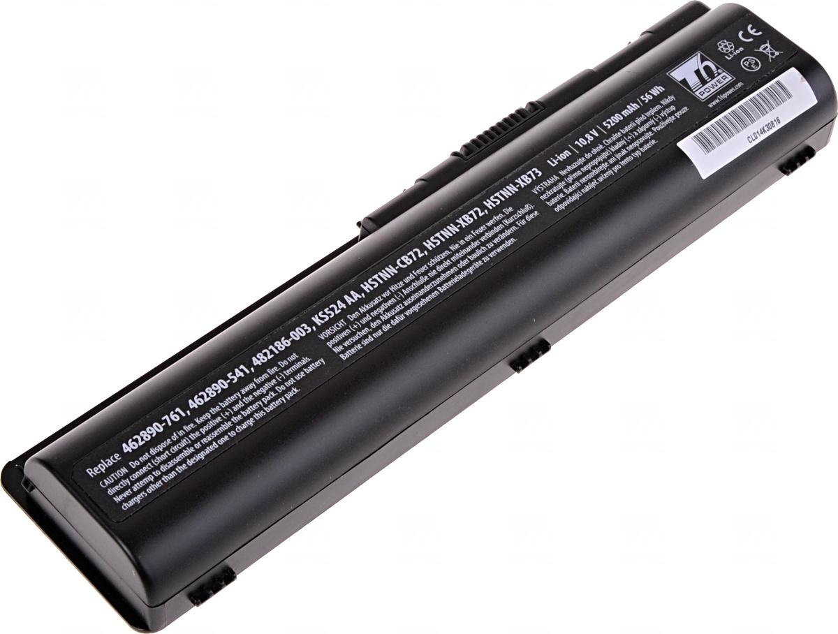 Baterie T6 power HP Pavilion dv4-1000, dv5-1000, dv6-1000 serie, 6cell, 5200mAh